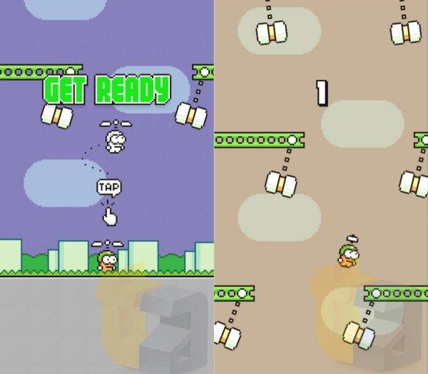 Разработчик анонсировал «вертикальную» Flappy Bird
