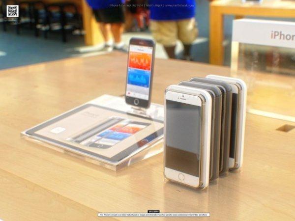 iPhone 6 получит барометр, программируемую кнопку Power, режим управления одной рукой и версию на 128 ГБ