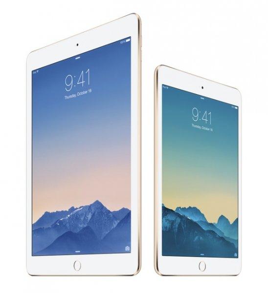 Что выбрать: iPad Air 2 или iPad mini 3?