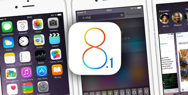 Apple выпустила обновление iOS до версии 8.1