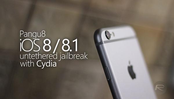 Как сделать непривязанный джейлбрейк iOS 8.1 с помощью Pangu8