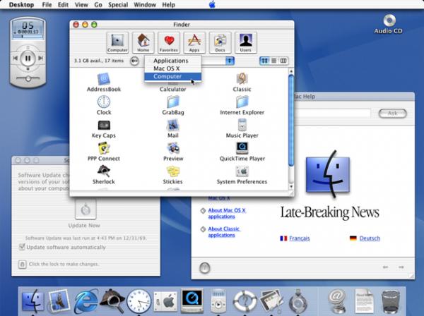 История OS X. Как это было