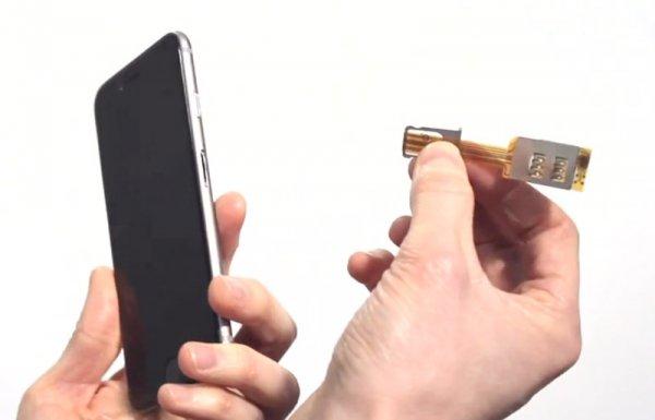 Как сделать из iPhone смартфон с двумя SIM-картами