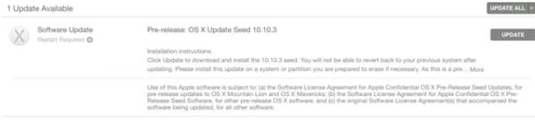 Вышла первая бета-версия OS X 10.10.3 Yosemite - приложение Photos входит в комплект