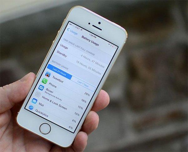 Как увеличить время работы iPhone от аккумулятора