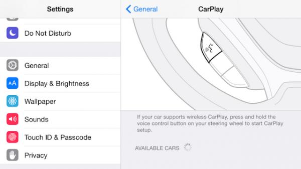 Вышла iOS 8.3 beta 1 с поддержкой беспроводного доступа к CarPlay