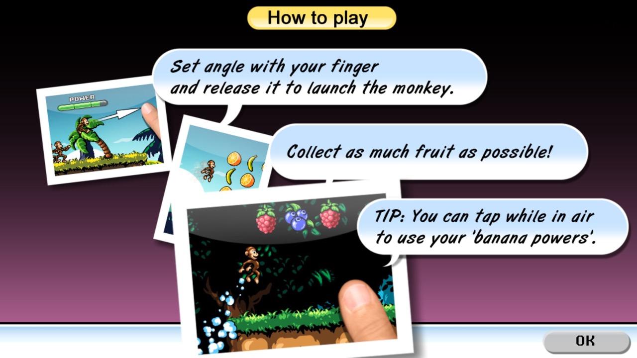 Как играть в Monkey Flight 2