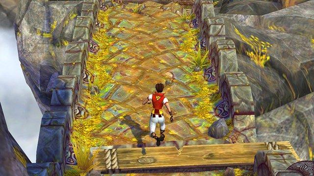 Игровой процесс Temple Run 2