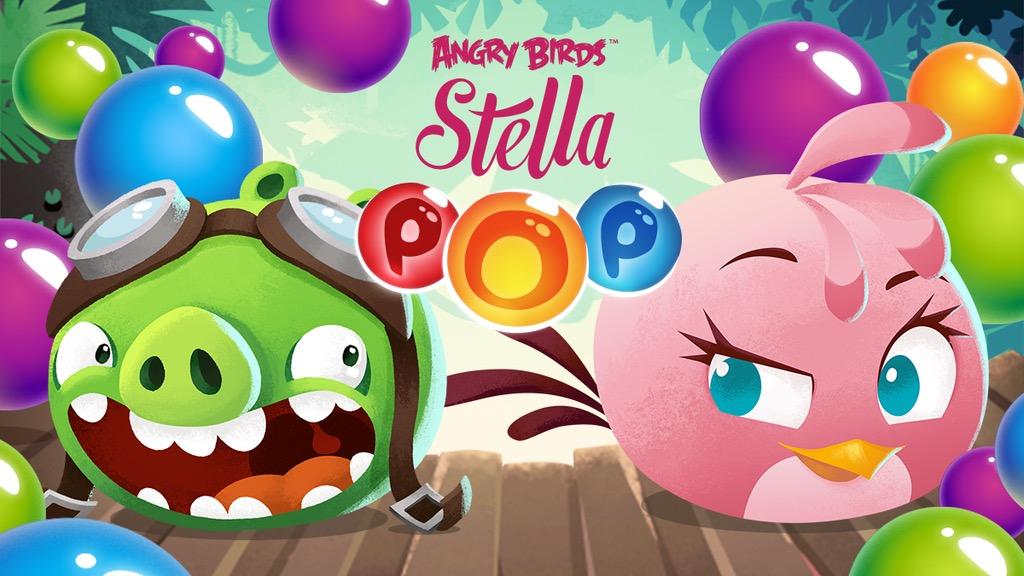 Angry Birds Stella POP! — аркадная головоломка от создателей злых птичек