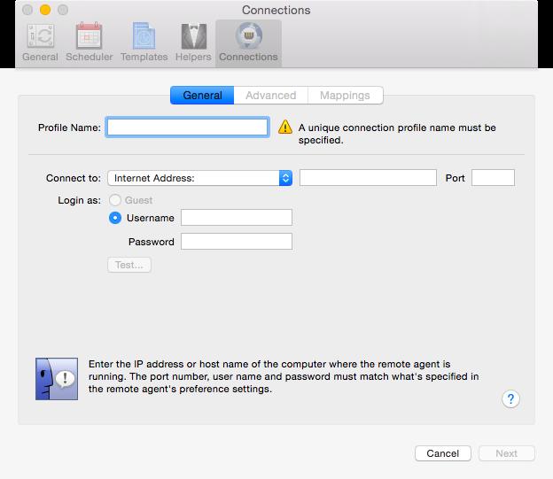 Синхронизация со вторым Mac