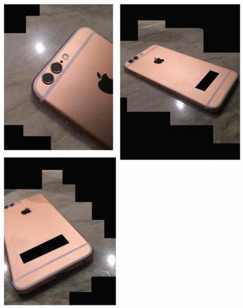Первые фотографии iPhone 6s