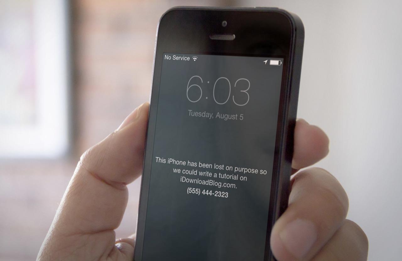 Украли iPhone, что делать?