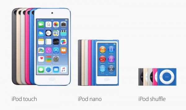 Apple представила новый iPod touch