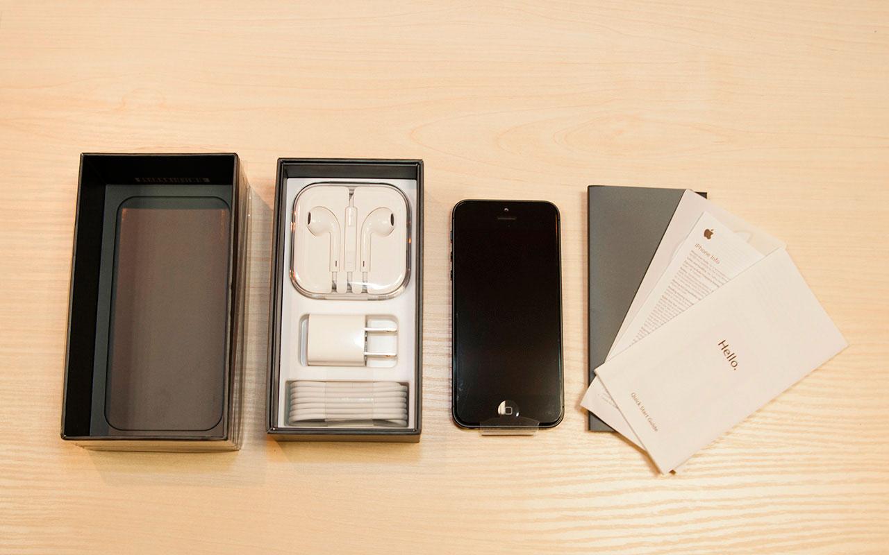 Комплект iPhone 5s