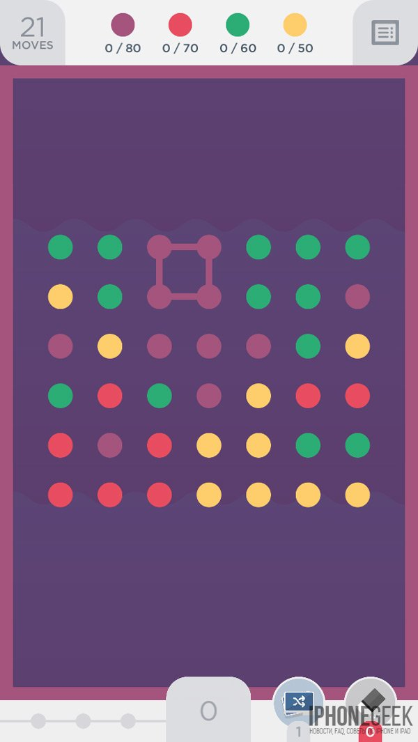 Фигуры в Two Dots