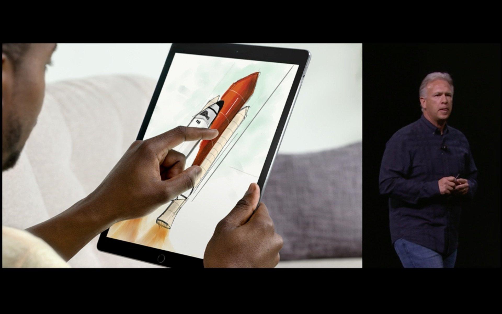 Рисование с iPad Pro