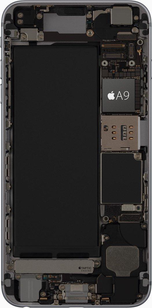 Процессор iPhone 6s