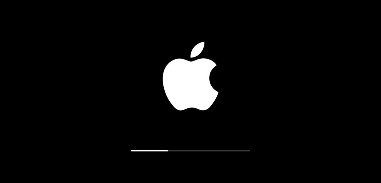 iPhone/iPad «застрял» на логотипе Apple при обновлении на iOS 9
