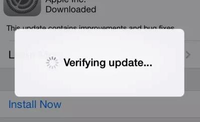 Проверка обновления ПО на iPhone