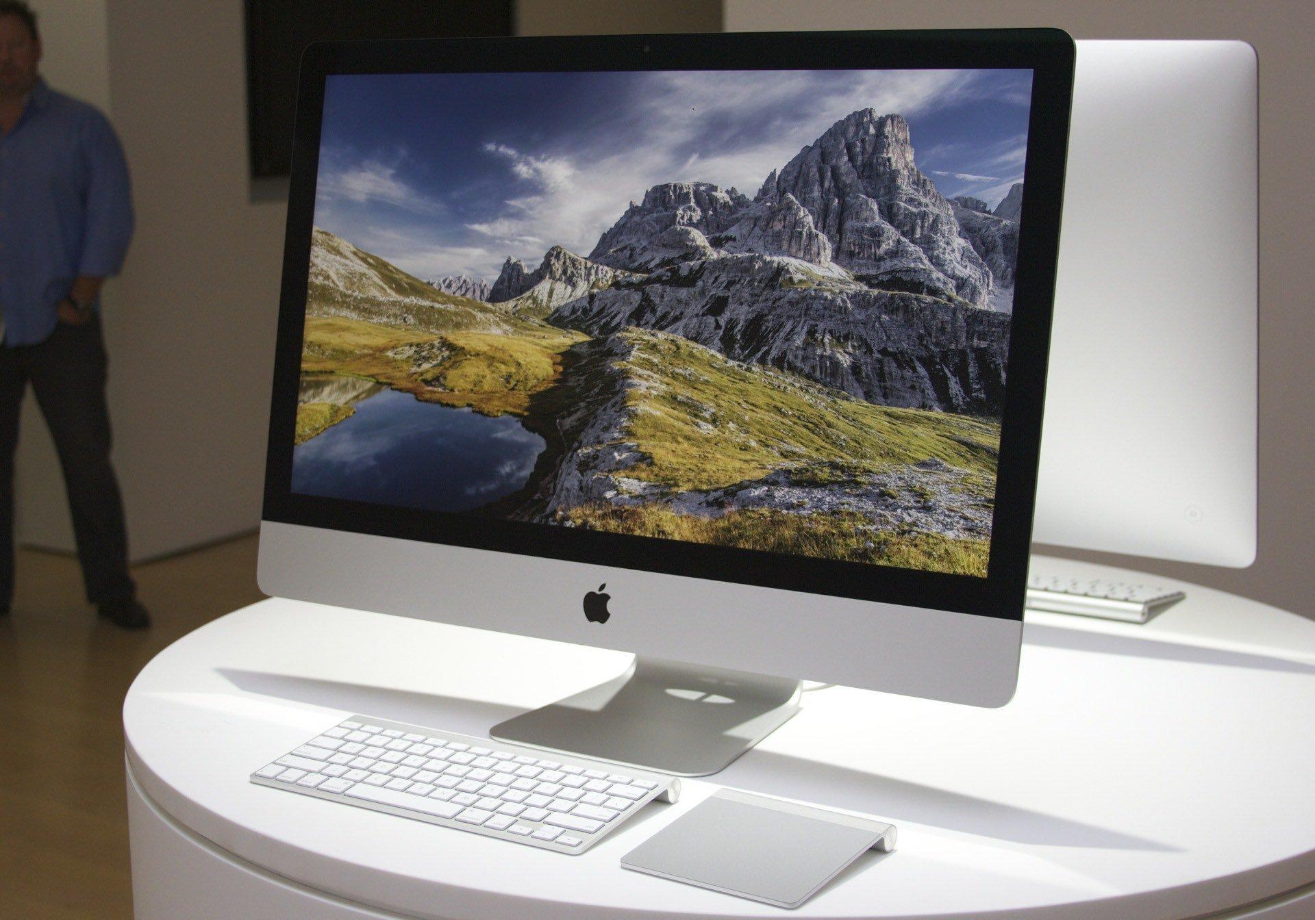 Новый 4К iMac представлен официально