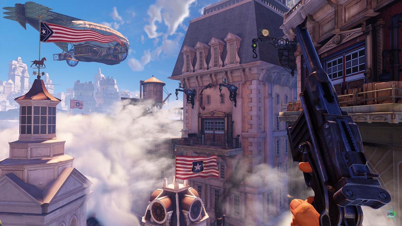 Геймплей BioShock Infinite