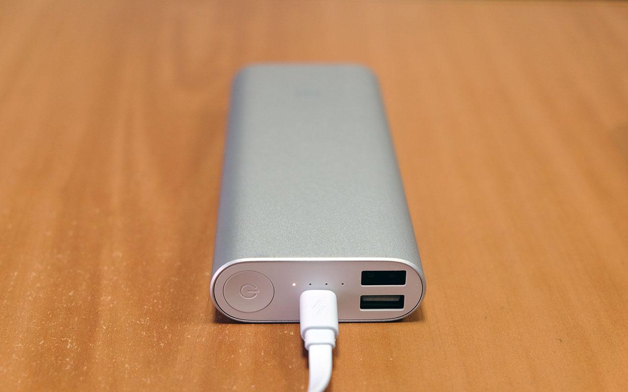 Внешний вид Xiaomi Mi Power Bank