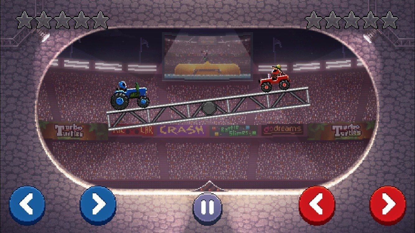 Drive Ahead – поединок с другим игроком