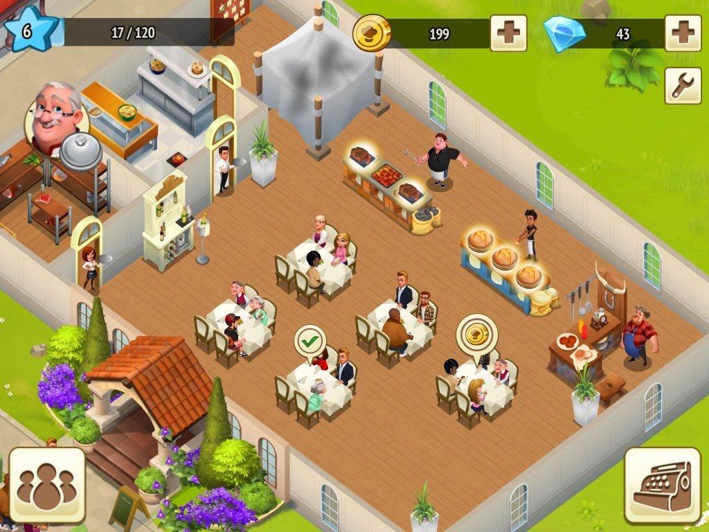 World Chef: открываем ресторан