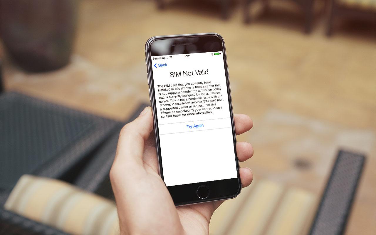 Как разблокировать залоченный iPhone