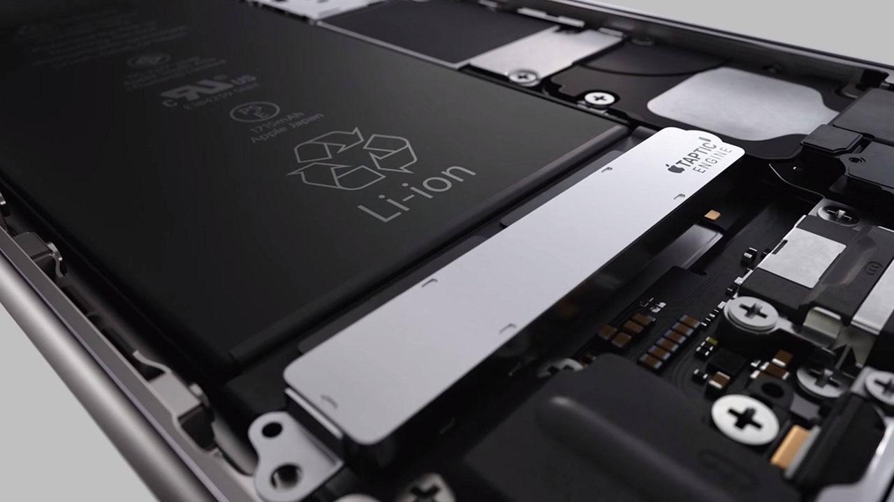 Аккумулятор в iPhone 6s