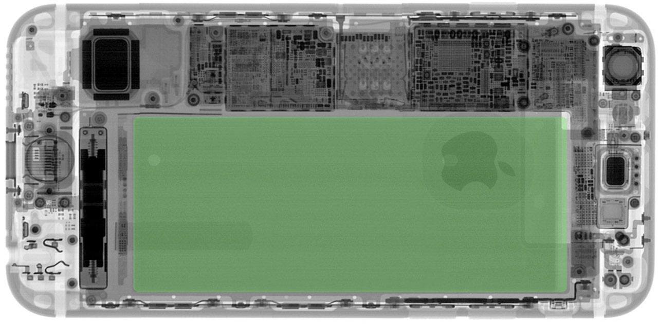 Рентген iPhone 6s