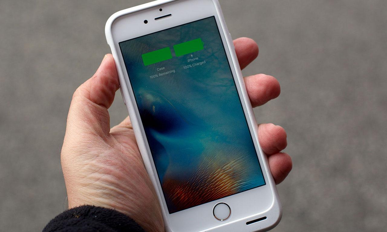 iPhone полностью заряжен