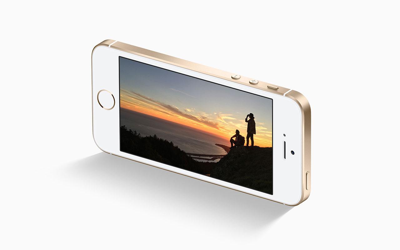 Съемка фото на iPhone SE