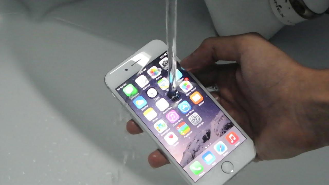 Apple восстанавливает утонувший телефон