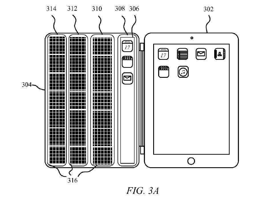 Smart-Cover с солнечными батареями