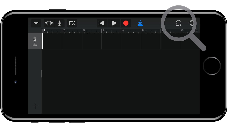 Добавление новых loops в Garage Band for iOS
